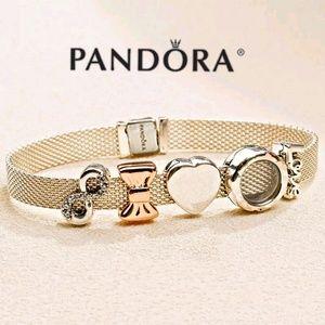 Pandora reflexions bracelet + 5 CHARMS SET